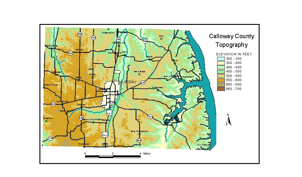 Groundwater Resources of Calloway County, Kentucky