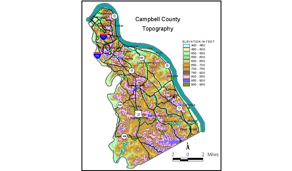 Groundwater Resources of Campbell County, Kentucky