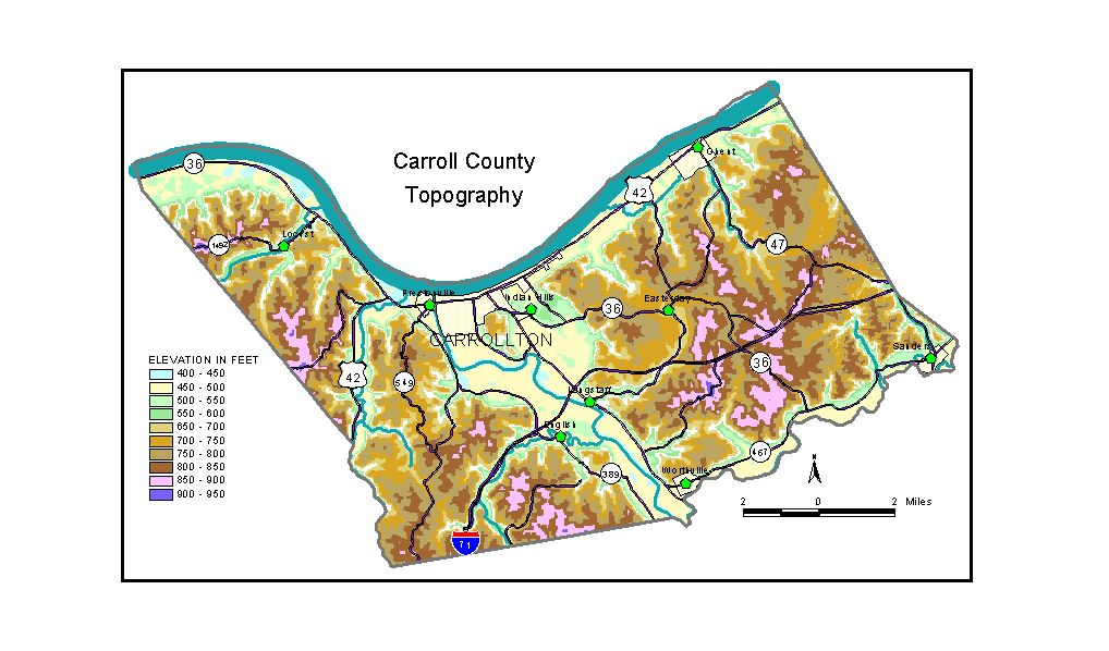 Groundwater Resources Of Carroll County Kentucky