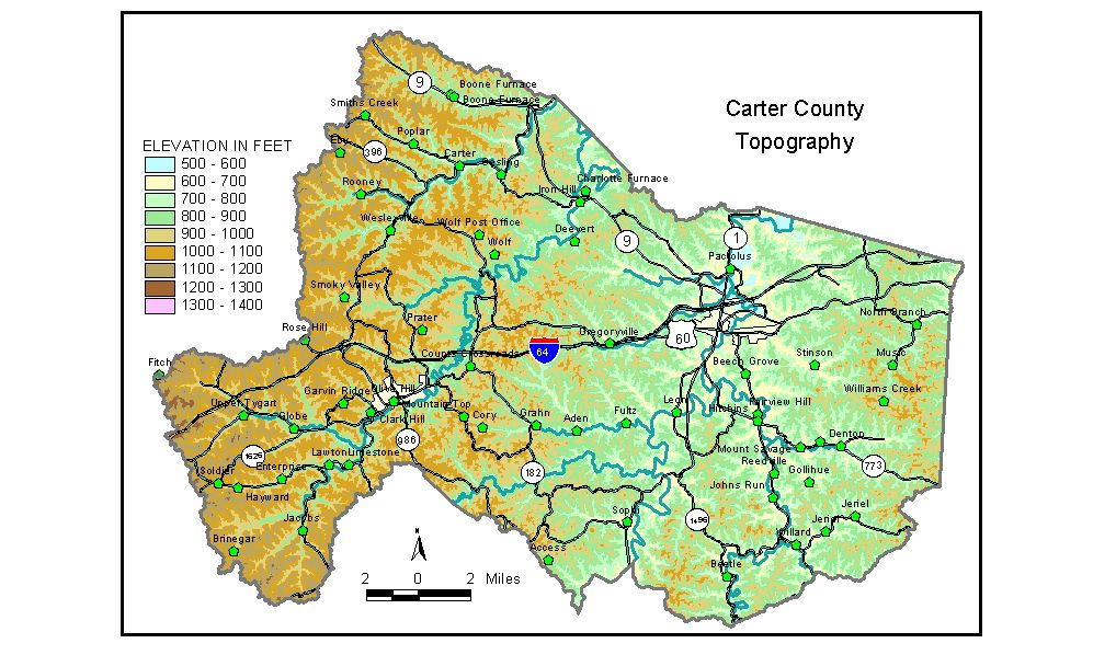 Groundwater Resources of Carter County, Kentucky on map of lewis county ky, map of columbia ky, map of carter co ok, map of carter county tn 37643, map of kentucky, map of richmond ky, carter county ky,