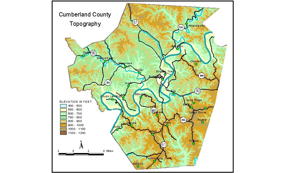 Groundwater Resources of Cumberland County, Kentucky