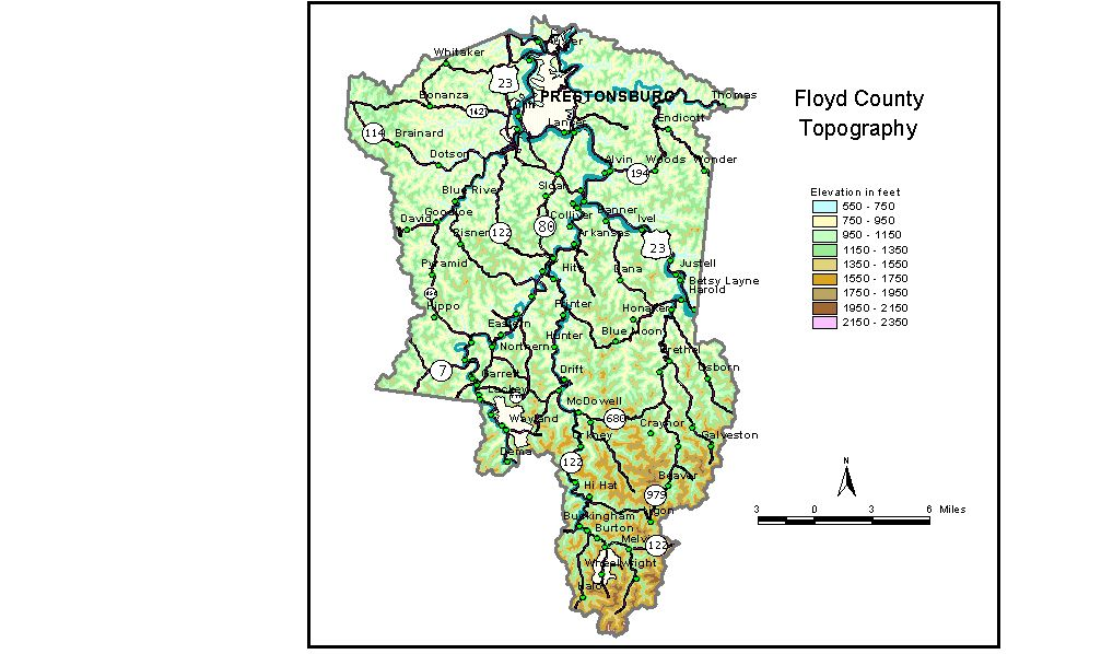 Groundwater Resources of Floyd County, Kentucky