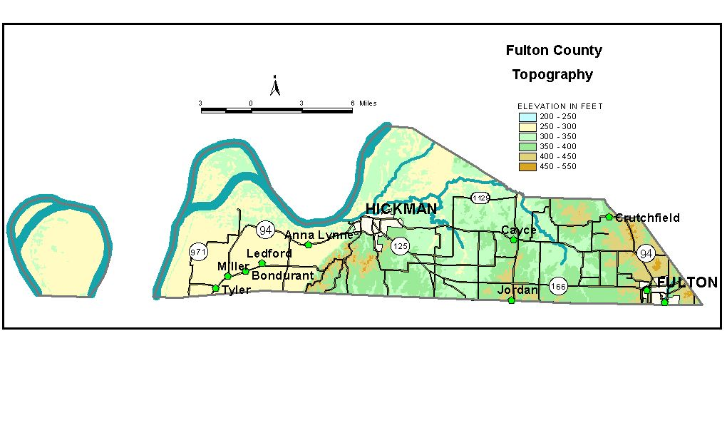 Groundwater Resources Of Fulton County Kentucky - Ky map forms