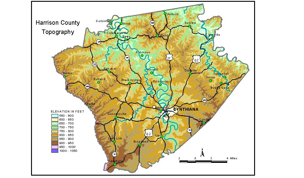 Groundwater Resources of Harrison County, Kentucky