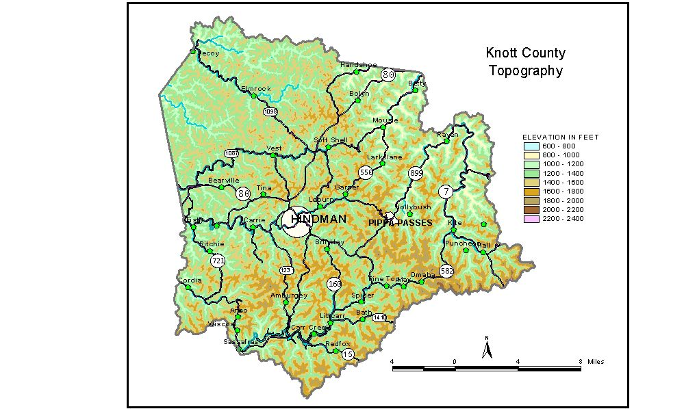 Groundwater Resources of Knott County, Kentucky