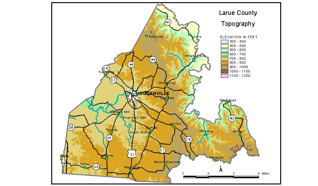 Groundwater Resources of Larue County, Kentucky
