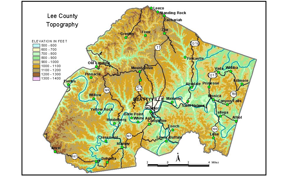 Groundwater Resources of Lee County Kentucky