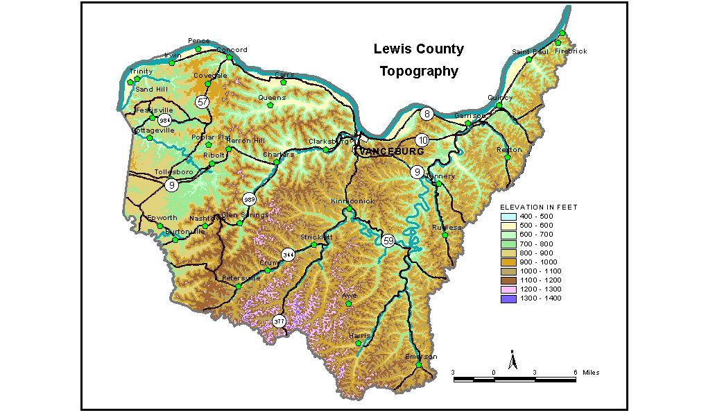 Groundwater Resources Of Lewis County Kentucky