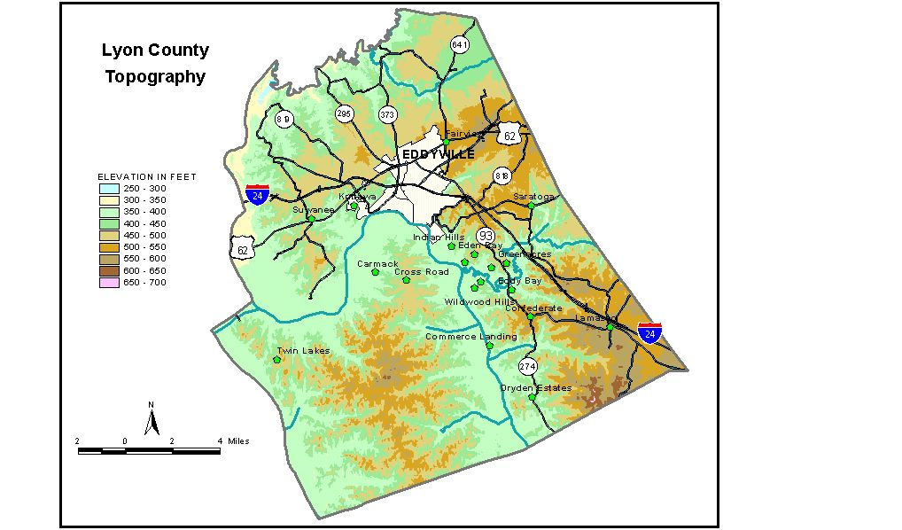 Groundwater Resources of Lyon County Kentucky