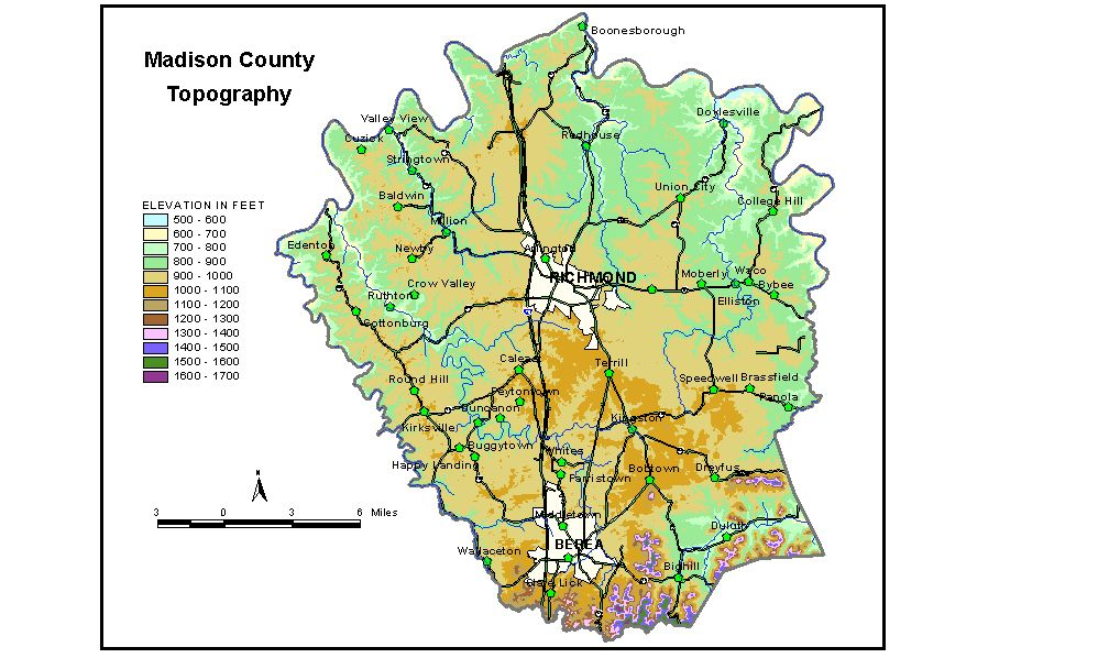 Groundwater Resources of Madison County Kentucky