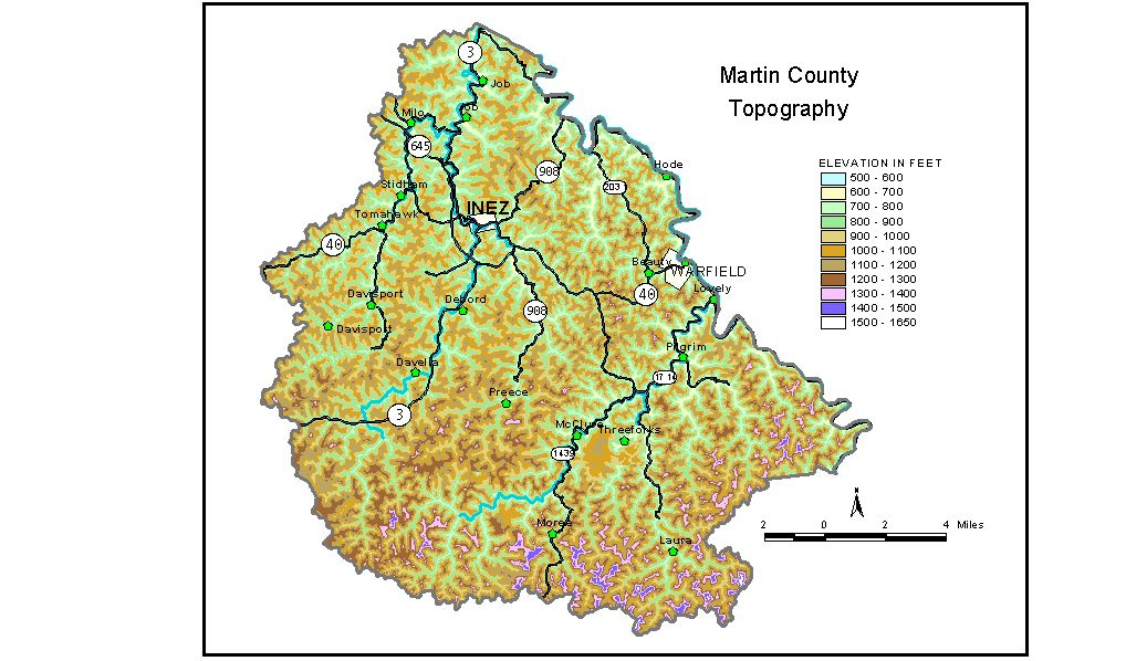 Groundwater Resources of Martin County Kentucky