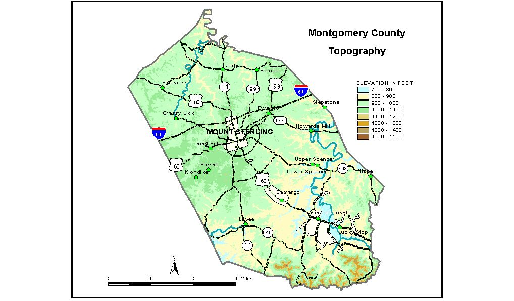 Groundwater Resources of Montgomery County, Kentucky