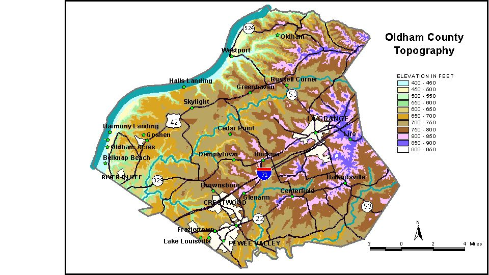 Groundwater Resources of Oldham County Kentucky