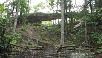 Log Rock, Kingdom Come State Park, Harlan County